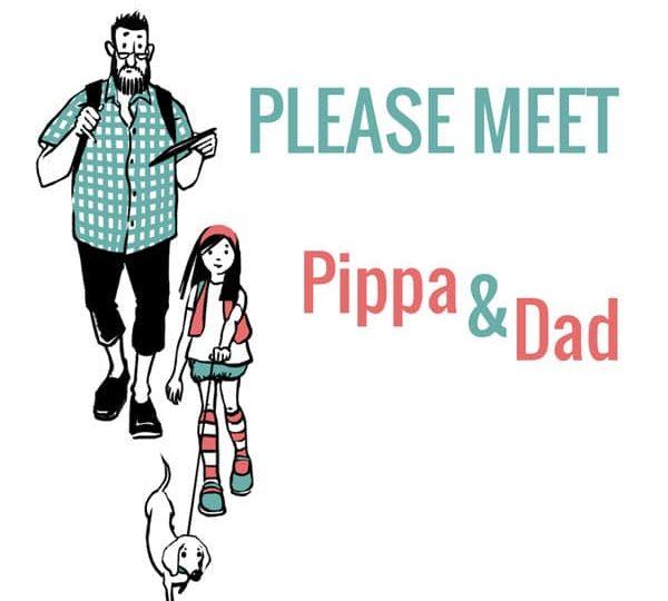 D'où viennent Pippa & Dad, nos personnages illustrés ?