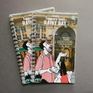 Rainy day treasure hunt paris - booklets