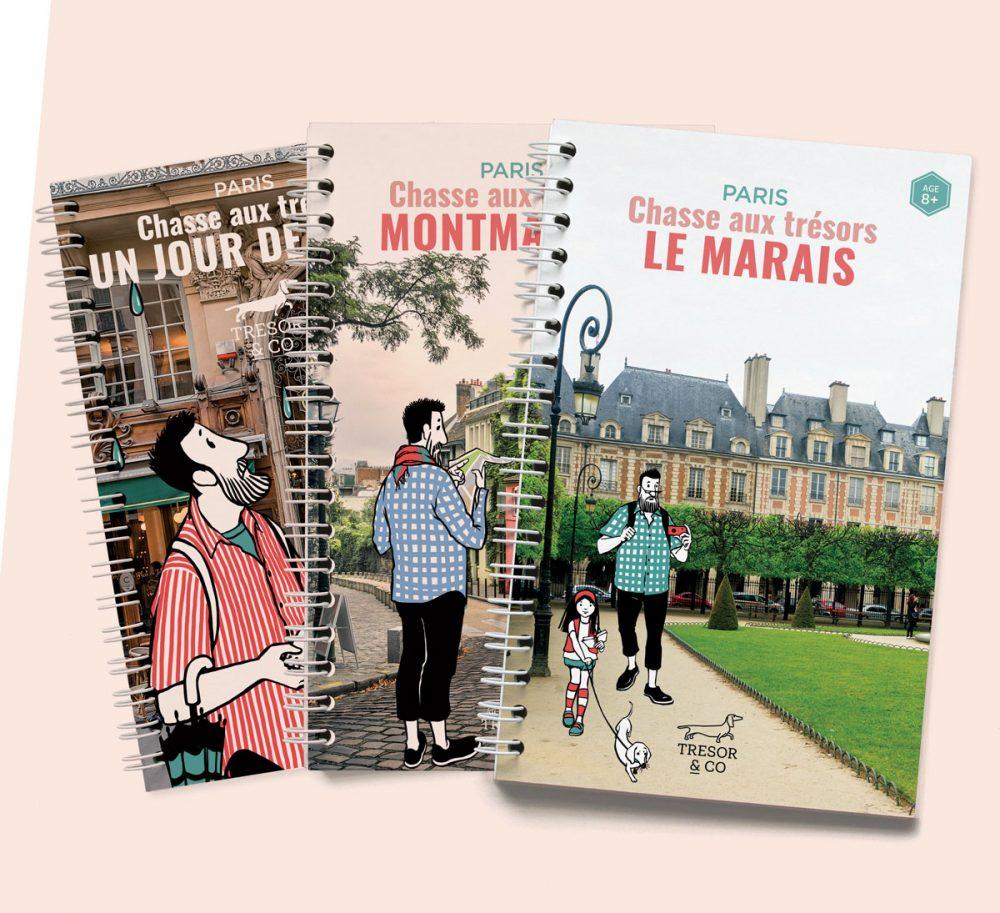 Chasses aux trésors de Paris