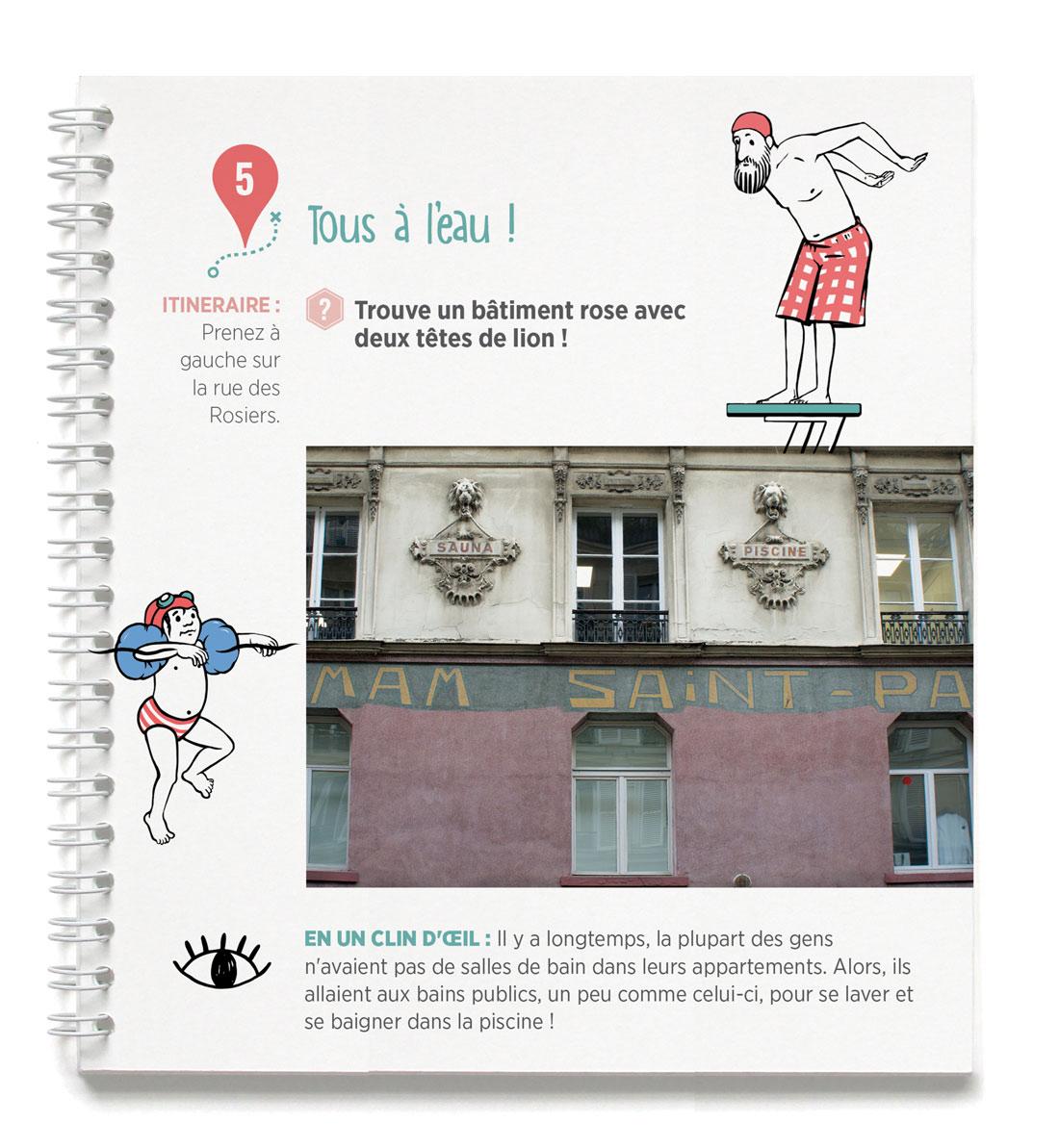 Tresor and co - chasse aux trésors du Marais - rue des Rosiers