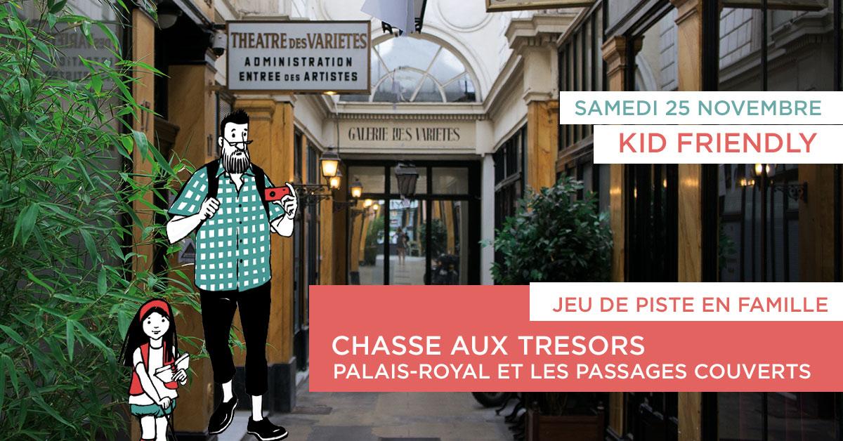 Chasse aux trésors tresor & co 24 novembre 2018