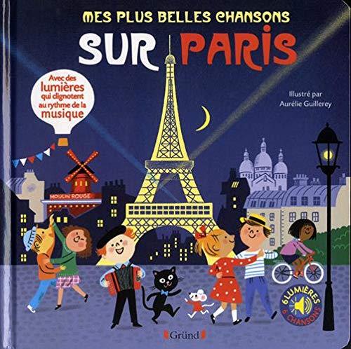livre à toucher chansons sur Paris
