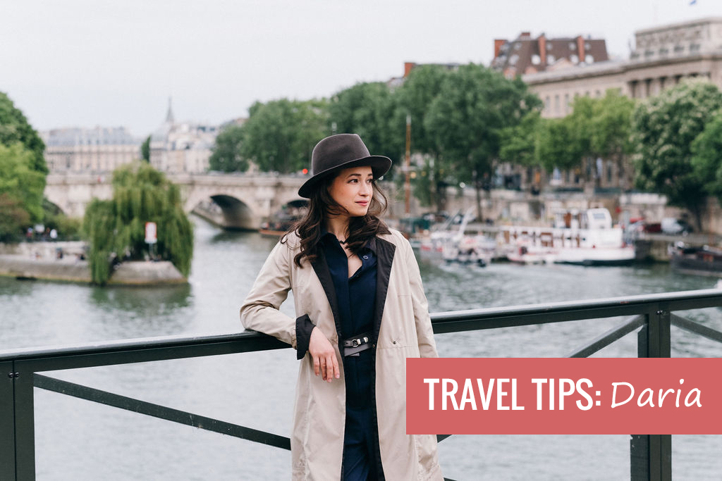 Travel tips - Daria Reingewirtz